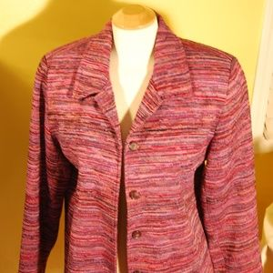 Lavender/Heather toned jacket by Coldwater Creek